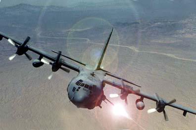AC-130 Gunship Savaş Uçağı